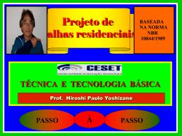 fonte NBR 10844/1989