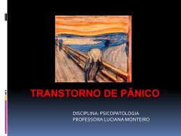 TRANSTORNO DE PÂNICO