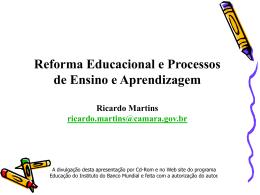Reformas educacionais
