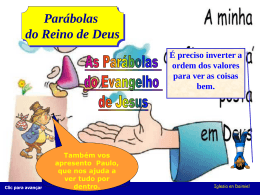 Parábola – Tesouro Escondido