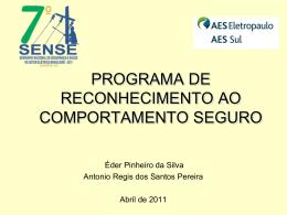 Programa de Reconhecimento ao Comportamento Seguro