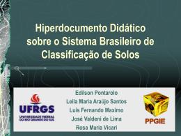 Hiperdocumento Didático sobre o Sistema Brasileiro de