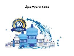 Água Mineral Timbu