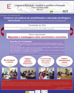 ppt - Línguas & Educação