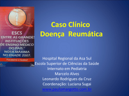 Caso Clínico: Doença Reumática
