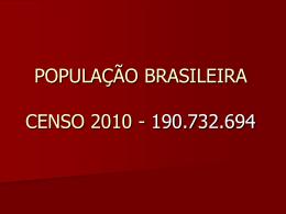 censo – 2010 - Colégio Dom Aguirre