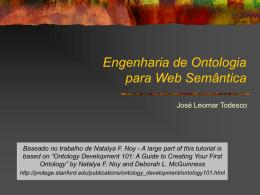 O que é uma ontologia