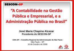 contabilidade - Conselho Regional de Administração de São
