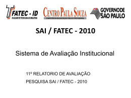 Resumo SAI 2010