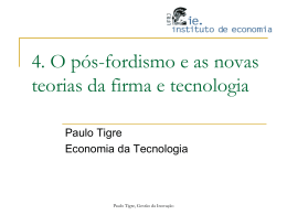 Slide 1 - Instituto de Economia da UFRJ