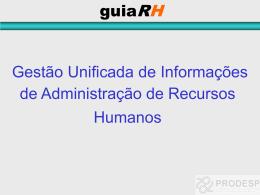 Apresentação guiaRH - Folha de Pagamento