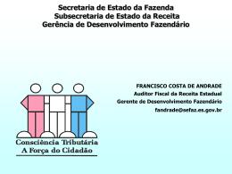 Francisco Costa de Andrade - Espírito Santo