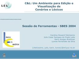 C&L - PES - Princípios de Engenharia de Software - PUC-Rio