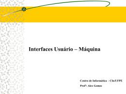 ProjetoIUMThiago - Centro de Informática da UFPE