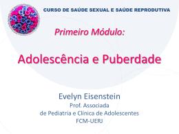 Aula Adolescência e Puberdade