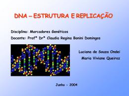 DNA - Estrutura e Replicaçao