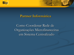Treinamento - Banco Central do Brasil