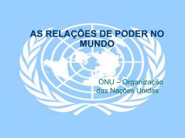 Fundação da ONU