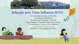 Infecção pelo Vírus Influenza H1N1