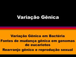 Variação Gênica
