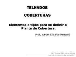 O TELHADO COBERTURAS
