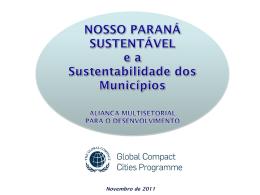 Nosso Paraná Sustentável - Eduardo Araujo