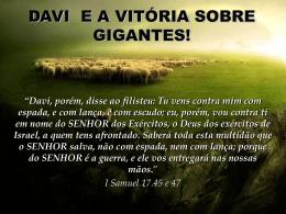 I Samuel 17.24
