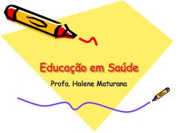 Educação em Saúde na prática do PSF
