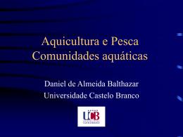Aquicultura e Pesca Comunidades aquáticas