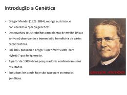 3ª Série EM_Genética_1ªLei