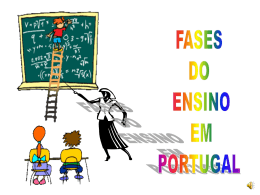 O Ensino em Portugal - Teia da Língua Portuguesa