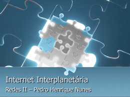 Internet Interplanetária