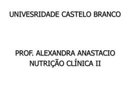 intestino - Universidade Castelo Branco