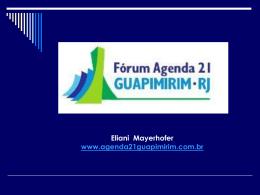 Guapimirim - Agenda 21 Comperj