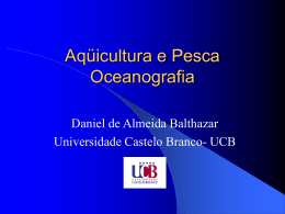 Aqüicultura e Pesca Liminologia