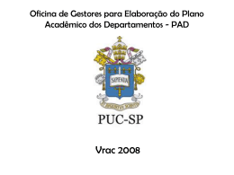 Documento PPT VRAC - PUC-SP