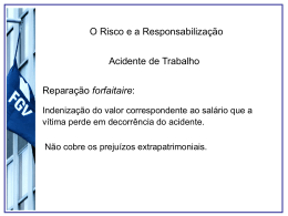 Aula_responsabilidade - Acadêmico de Direito da FGV