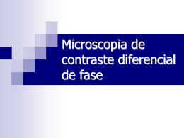 Contraste em microscopia óptica