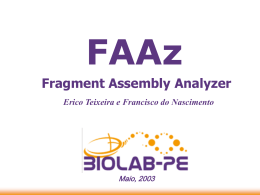 Fragment Assembly Analyzer
