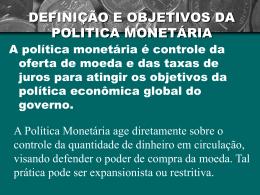 politica_monetaria