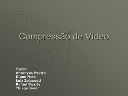 CompressaoDeVideo