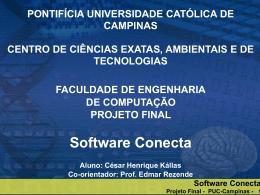 Software Conecta Projeto Final - PUC-Campinas