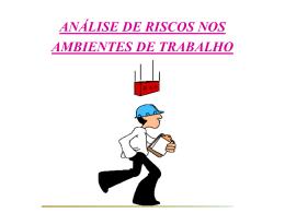 ETAPAS DA AVALIAÇÃO AMBIENTAL
