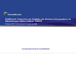 Apresentação GSISTE 2009-08-04 Forum SPOA