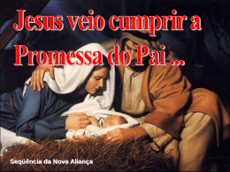 As Promessas se cumprem em Jesus