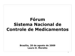 SINDUSFARMA - Lauro D. Moretto
