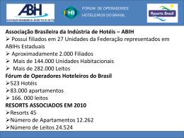 Fórum de Operadores Hoteleiros do Brasil