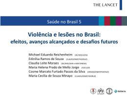 Violência e lesões no Brasil