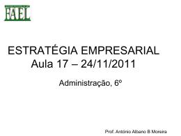 Perspectiva do cliente - Estratégia Empresarial