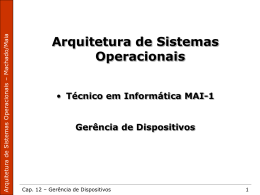 Gerencia de Dispositivos